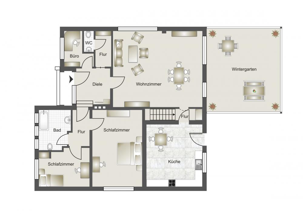 phi aachen freistehender sonniger wohlf hlbungalow im beschaulichen titz opherten. Black Bedroom Furniture Sets. Home Design Ideas