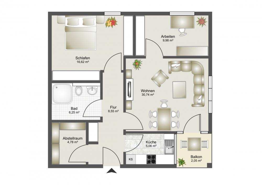 phi aachen seniorengerechtes und barrierefreies wohnen in baesweiler immobilienmakler aachen. Black Bedroom Furniture Sets. Home Design Ideas