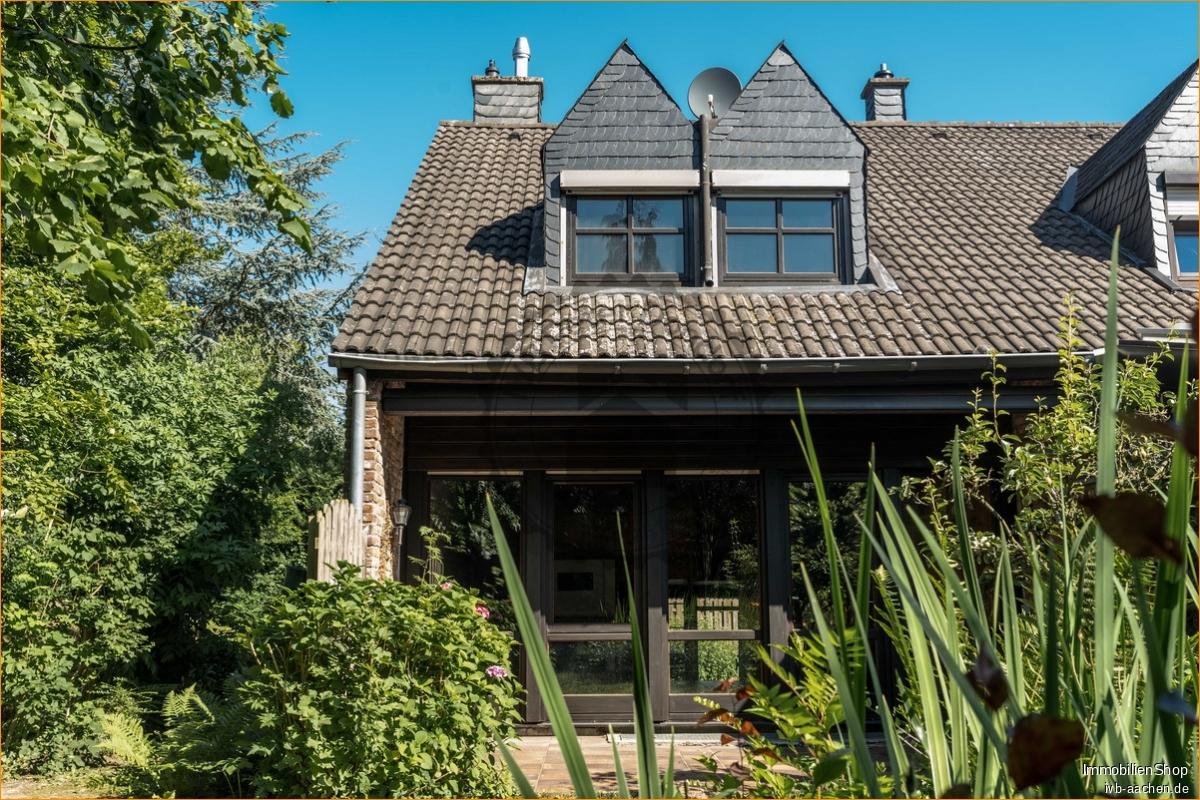 Immobilienmakler Aachen / Brand Einfamilienhaus kaufen mit Immobilienbewertung