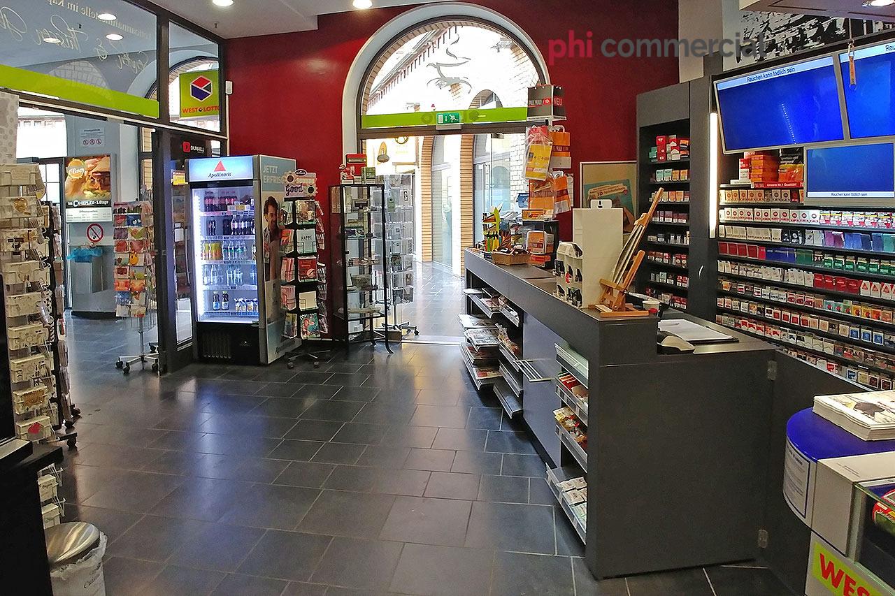 Immobilienmakler Aachen Kiosk mieten mit Immobilienbewertung