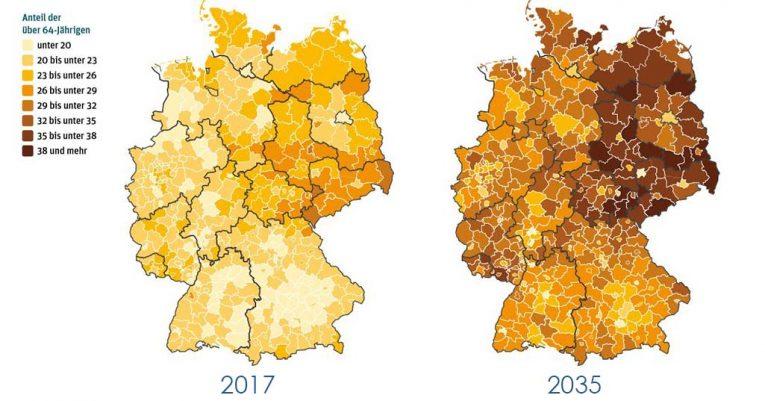 Demographischer Wandel: So entwickelt sich Deutschland bis 2035 PHI Aachen