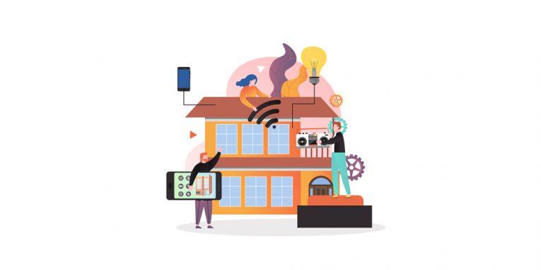 Bald tragen wir unser Heim in der Hosentasche stets bei uns. Durch die Digitalisierung werden immobile Dinge mit einer App plötzlich mobil.