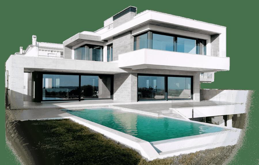 Haus Immobilie Luxus Titelseite