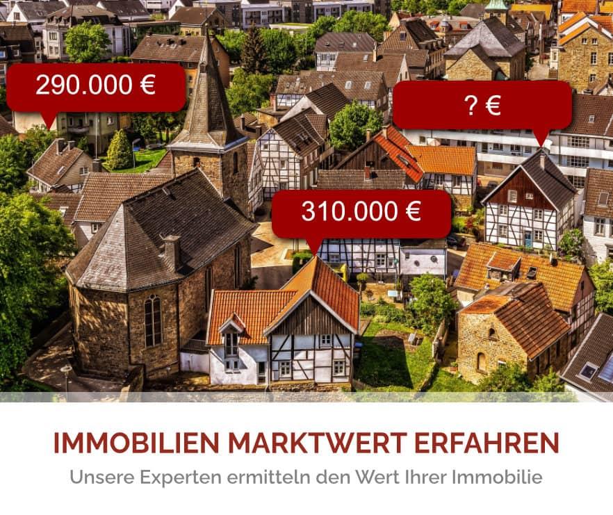 Immobilien Bewertung - Wert der Immobilie erfahren