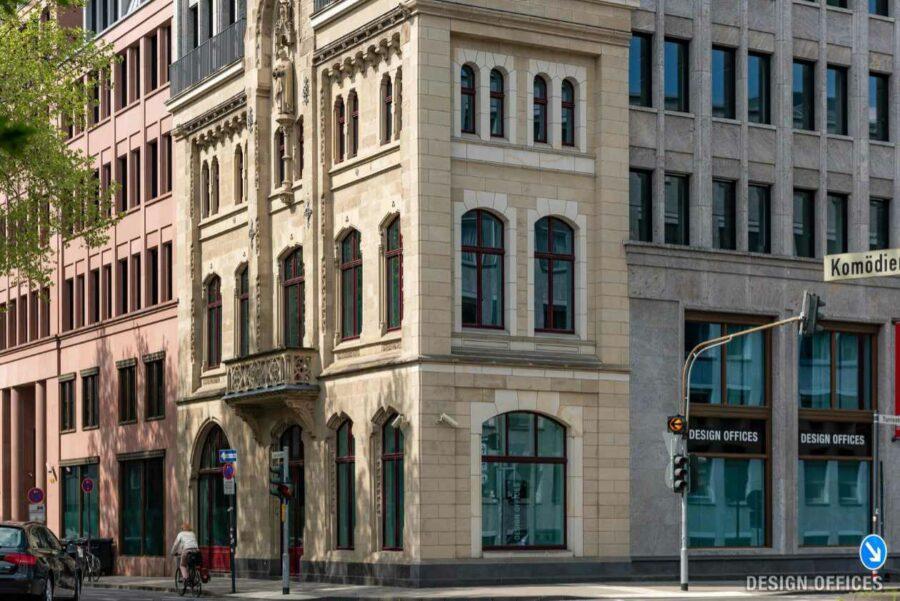 Immobilienmakler Köln PHI - Design Offices Tunisstrasse Fassade