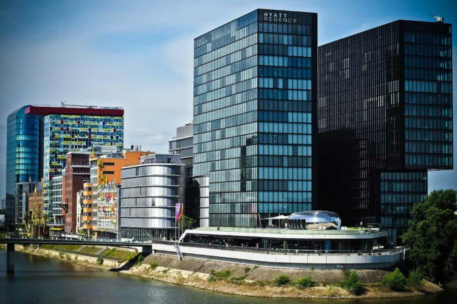 Düsseldorf Medienhafen Hyatt Regency Immobilien