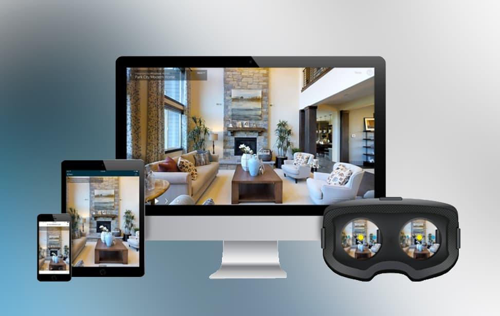 Moderne Technik - VR Brille