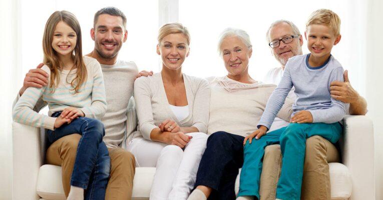 Umzug ins Seniorenheim - Familienfoto